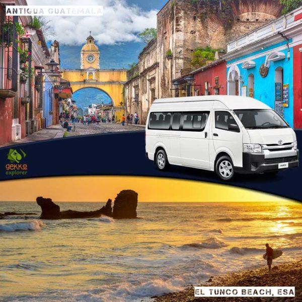 shuttle-antigua-guatemala-to-el-tunco-beach