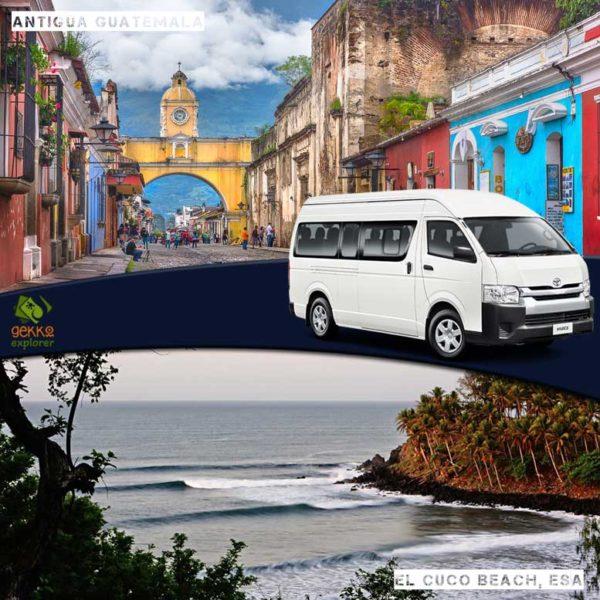 shuttle-antigua-guatemala-to-el-cuco-beach