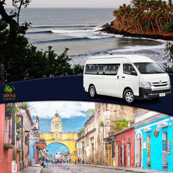 shuttle-el-cuco-beach-to-antigua-guatemala