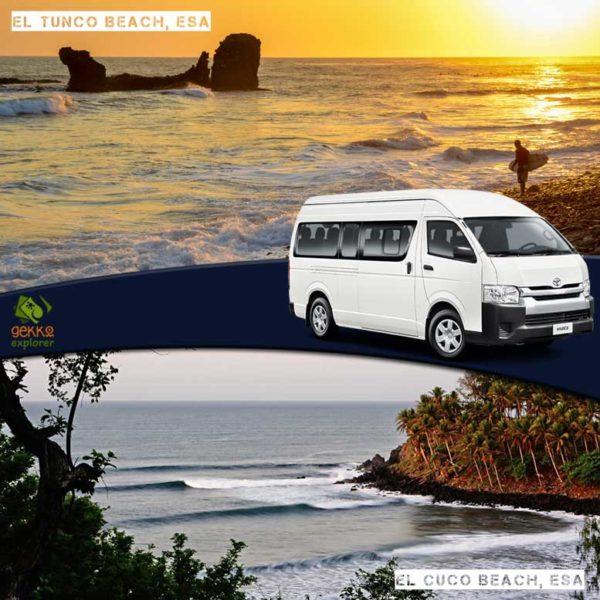 shuttle-el-tunco-beach-to-el-cuco-beach