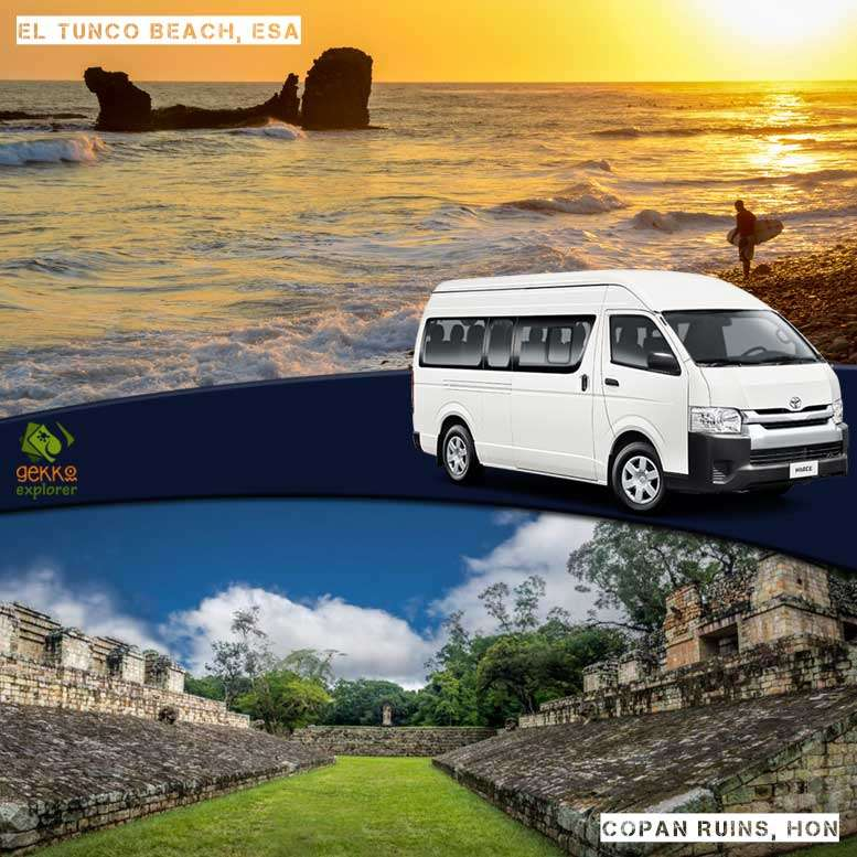 shuttle-el-tunco-beach-to-copan-ruins