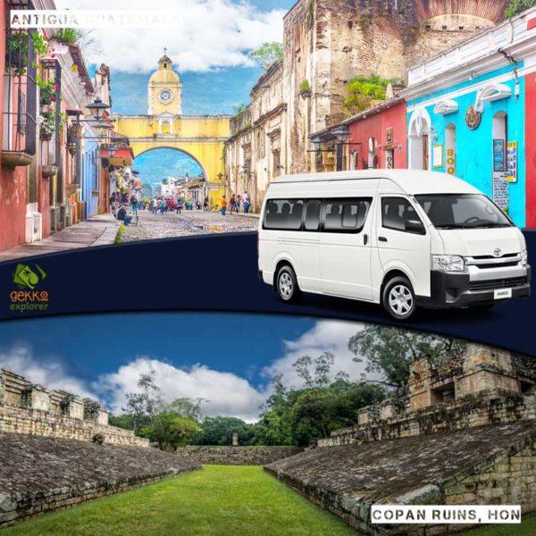 shuttle-antigua-guatemala-to-copan-ruins
