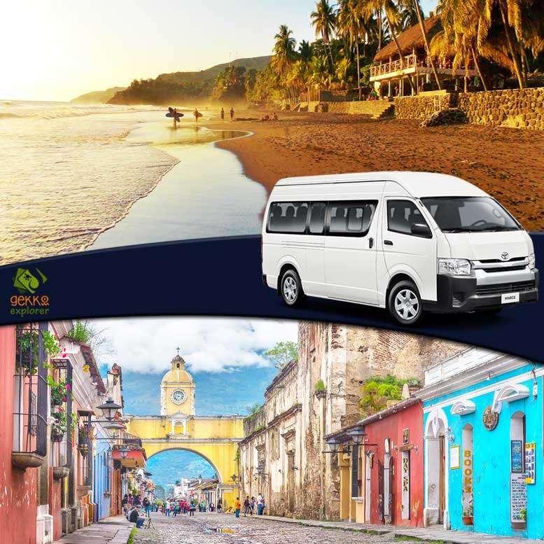 shuttle-el-zonte-beach-to-antigua-guatemala