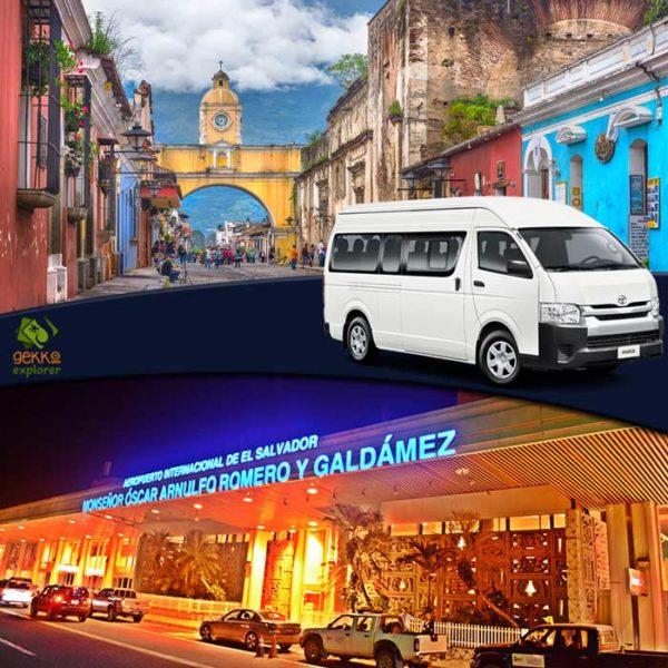 shuttle-antigua-guatemala-to-airport-el salvador