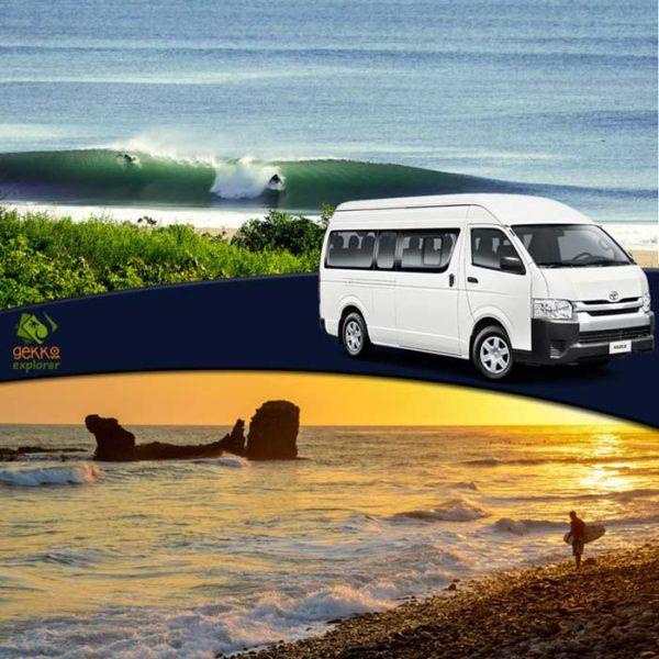 shuttle chinandega to el tunco beach