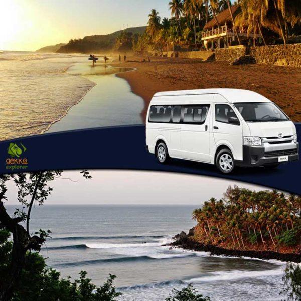shuttle el zonte beach to el cuco beach